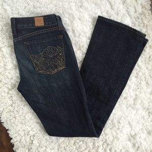 Lucky Brand Lola Boot Dark Wash Jeans